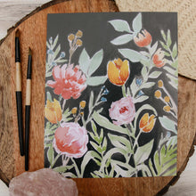 Load image into Gallery viewer, Kristin Midnight Floral Print
