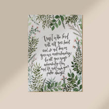 Load image into Gallery viewer, Proverbs 3:5-6 Print
