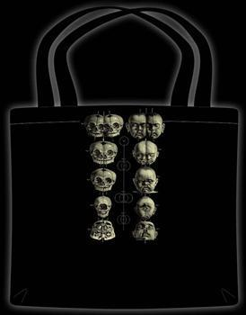 PATHOLOGY SKULL CHART - Tote Bag