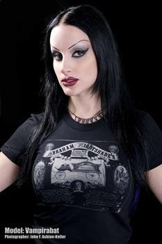 ABRAHAM NIGHTSHADES - Custom Funeral Carriages girl fitted shirt