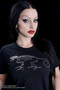 CHAMELEON SKELETON - T shirt