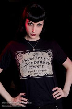 OUIJA BOARD - girl fitted shirt