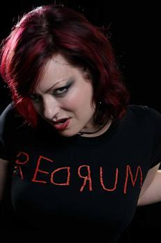 REDRUM - girl fitted shirt