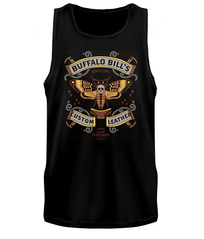 SILENCE OF THE LAMBS - Buffalo Bill's Custom Leather Tank Top