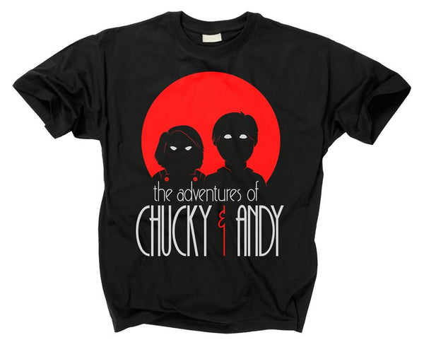 CHILD'S PLAY - Adventures of Chucky and Andy T Shirt