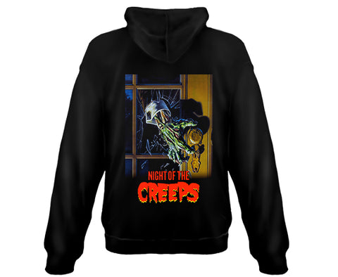 NIGHT OF THE CREEPS- Zipper Sweatshirt Hoodie