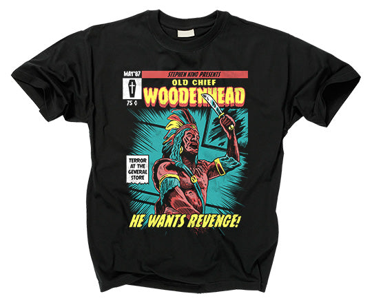 CREEPSHOW 2 - Old Chief Woodenhead T shirt
