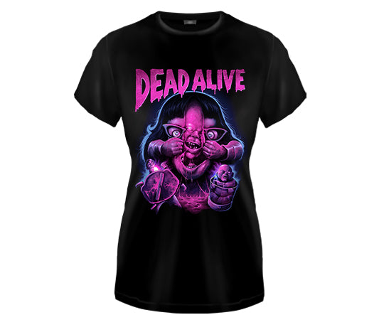 DEAD ALIVE - Dead Alive #2 Rita Girls Fitted T Shirt