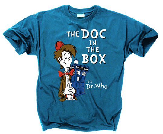 DOCTOR WHO - Doc in the Box Mashup T Shirt