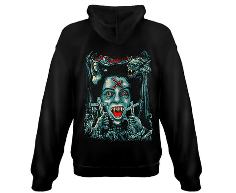 FRIGHT NIGHT - GODMACHINE - Zipper Sweatshirt Hoodie