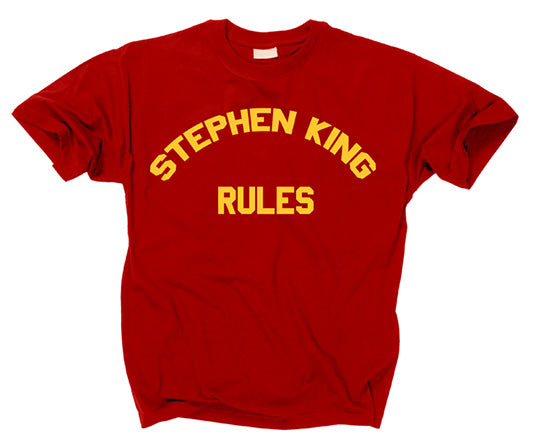 THE MONSTER SQUAD - Stephen King Rules T Shirt