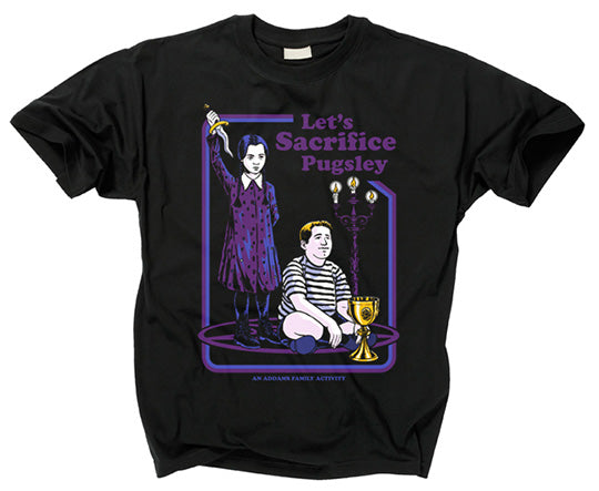 ADDAMS FAMILY - Let's Sacrifice Pugsley T Shirt