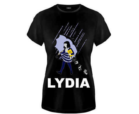BEETLEJUICE - Lydia Girls Fitted T Shirt