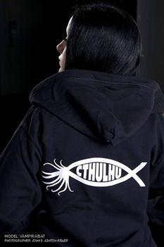 CTHULHU FISH - zipper hoodies