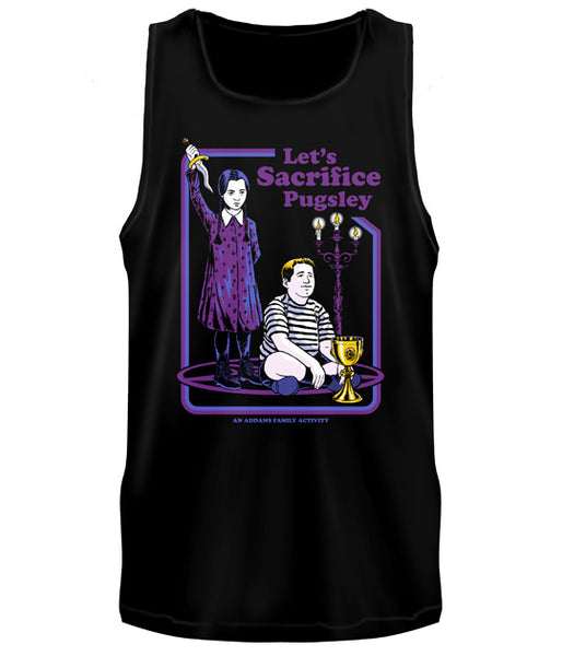 ADDAMS FAMILY - Let's Sacrifice Pugsley Tank Top