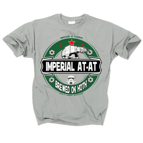 STAR WARS - IMPERIAL AT AT - Brewed On Hoth T shirt