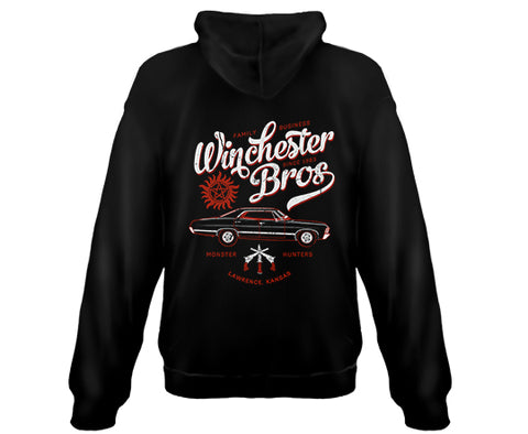 SUPERNATURAL - Winchester Brothers - Zipper Sweatshirt Hoodie