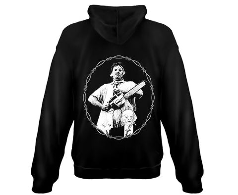TEXAS CHAINSAW MASSACRE - Leatherface and Gramps - Zipper Sweatshirt Hoodies