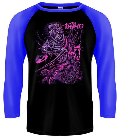 THE THING - The Thing Baseball Style T Shirt