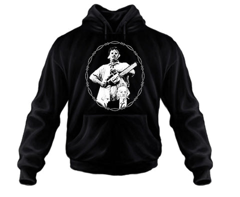 TEXAS CHAINSAW MASSACRE - Leatherface and Gramps - Pullover Sweatshirt Hoodies
