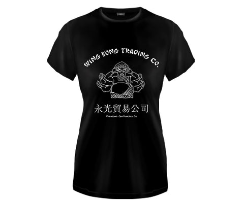BIG TROUBLE IN LITTLE CHINA - Wing Kong Trading Company girl fitted shirt