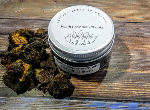 Myrrh Resin with Chunks For Energy Clearing