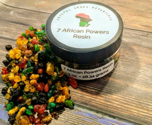 Seven African Powers Incense Resin 1 oz