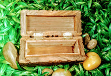 Small Triple moon Wooden Box