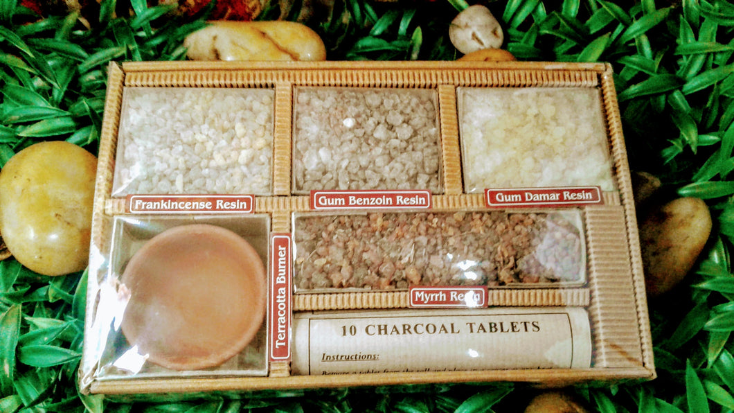 Incense Resin Gift Set