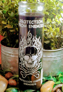 Protection From Enemies 7 day Candle