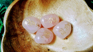 Rose Quartz Reiki Healing Symbol Set