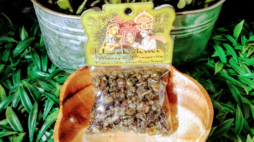 Incense Resin Lakshmi Money and Prosperity 1,2