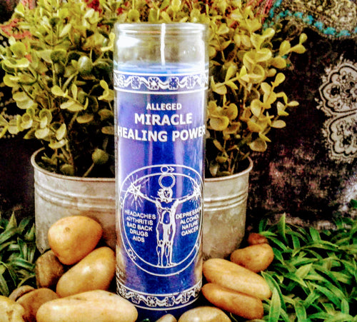 Miracle Healing Power 7 day Candle