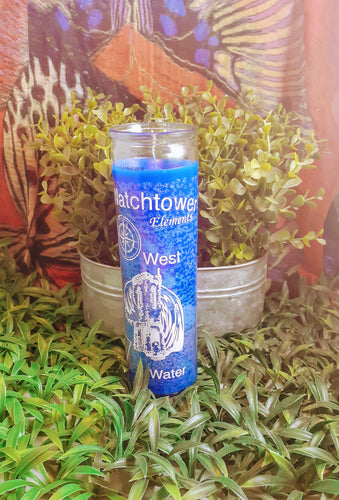 Watchtower Element Water 7 day Candle
