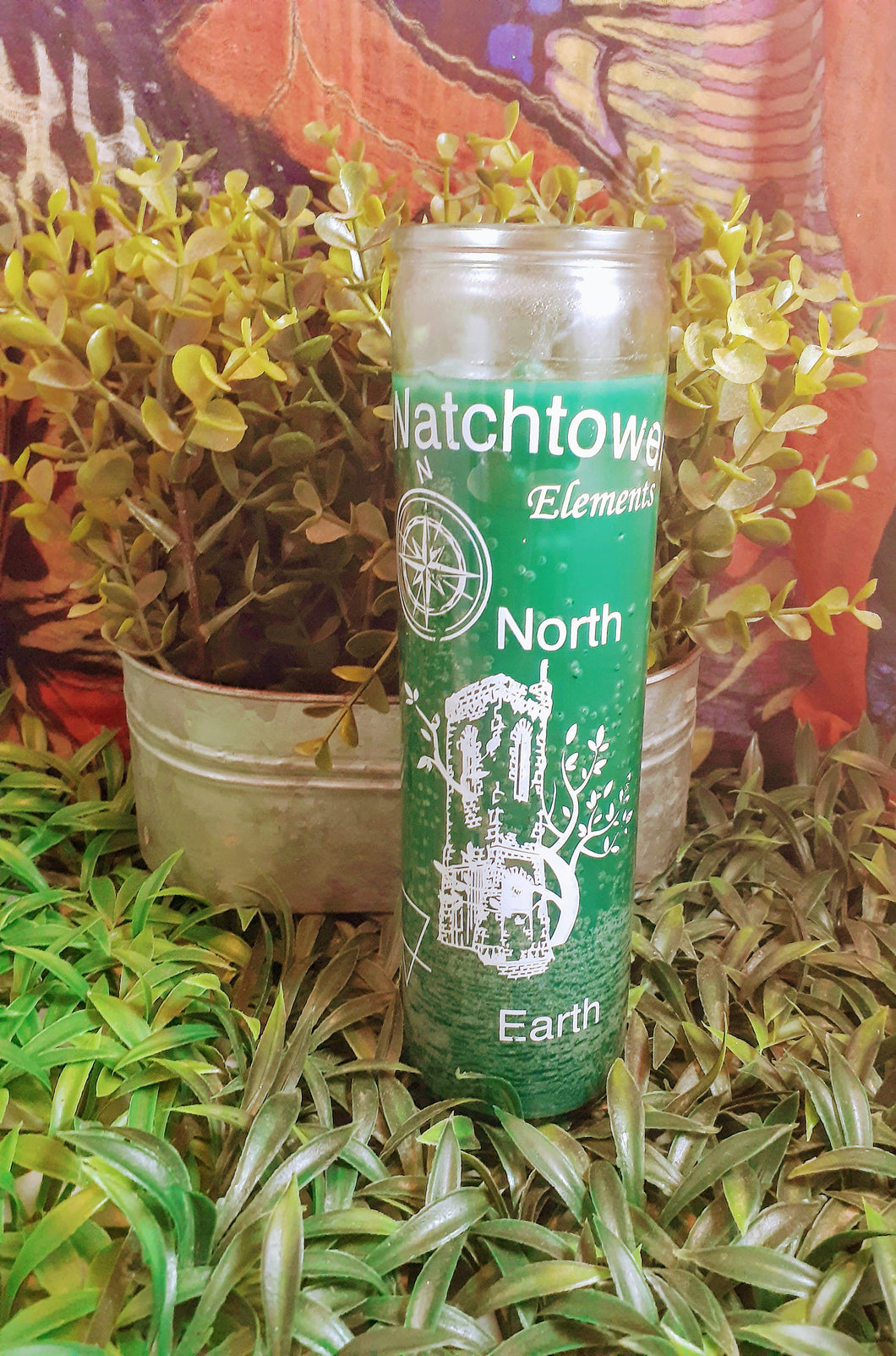 Watchtower Element Earth 7 day Candle