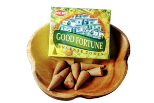 Good Fortune Incense Cones