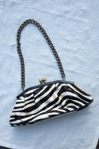 PONY HAIR ZEBRA BAG