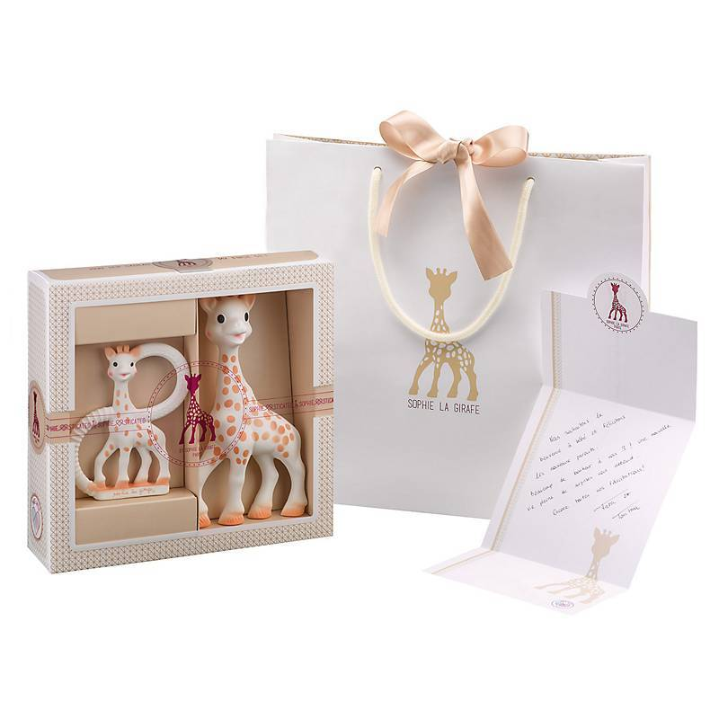 Kit de Regalo birth set #1 Mordedores Sophie La Girafe