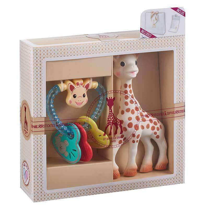 Kit de Regalo birth set #2 Mordedor y Sonajero Sophie La Girafe