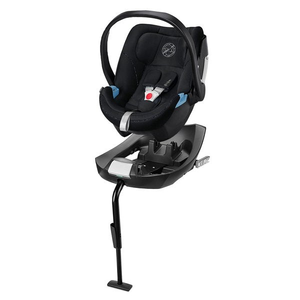 Travelstystem Coche de Paseo Qbit+ Plus All City Night Blue GB + Silla Nido Aton 5 y Base Cybex