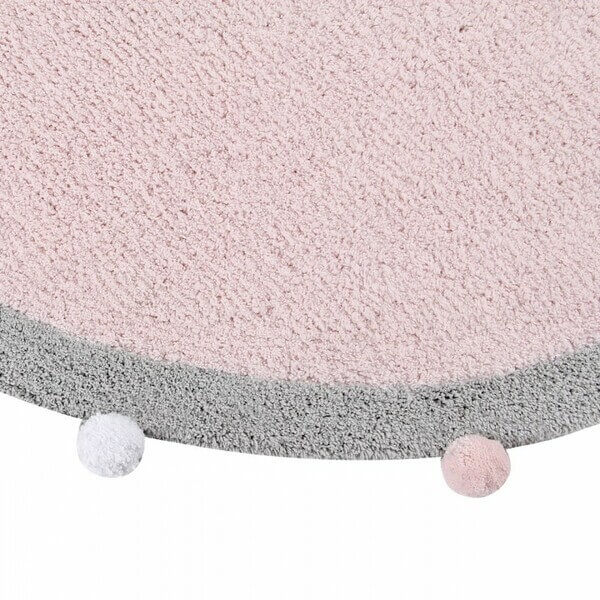 Alfombra Lavable Bubbly Soft Pink Lorena Canals