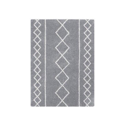 Alfombra Lavable Oasis Natural Gris Lorena Canals
