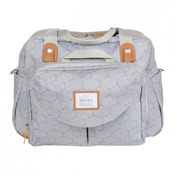 Bolso Geneve II Playprint Grey Beaba