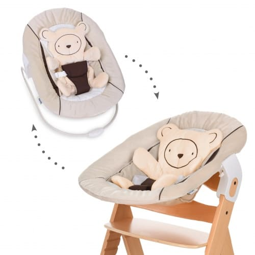 Mecedora Alpha Bouncer 2 en 1 Beige Hauck