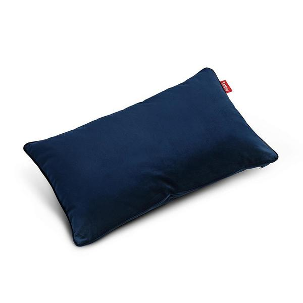 Cojín Velvet Pillow King Dark Blue Fatboy