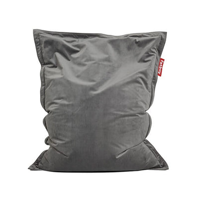 Pouf fatboy the original slim velvet Taupe