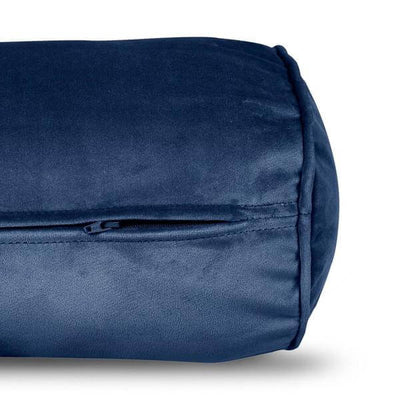 Cojín Velvet Pillow Rolster Dark Blue Fatboy