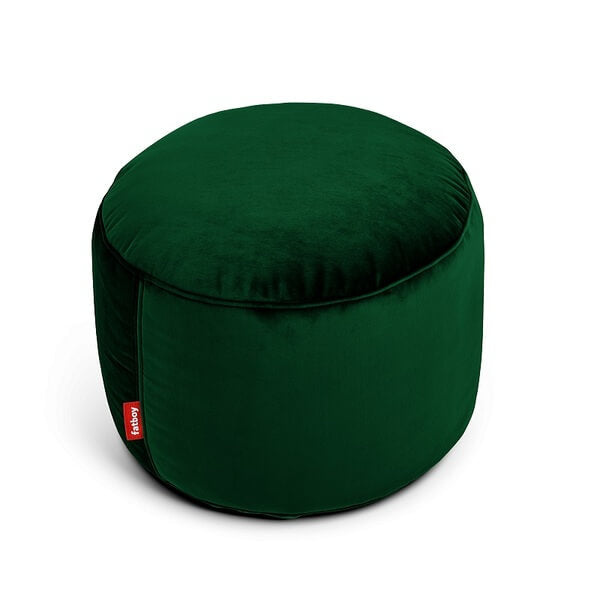 Point Velvet Emerald Green Fatboy
