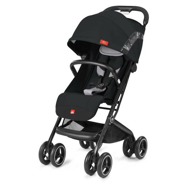 Coche de Paseo Qbit+ All-Terrain Velvet Black GB