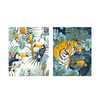 IXXI - IXXI Tiger Jungle & Toucan Family - Small (doble cara)